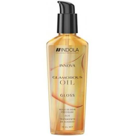 Масло для блеска Indola Innova Glamorous Oil Gloss 75 мл, фото 2