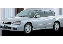 Накладки на задний бампер для Subaru (Субару) Legacy 3 1998-2003