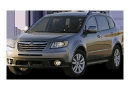 Накладки на задний бампер для Subaru (Субару) Tribeca 2 2007-2014