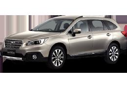 Накладки на задний бампер для Subaru (Субару) Outback 5 (BS) 2014+