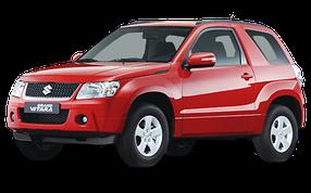 Накладки на задний бампер для Suzuki (Сузуки) Grand Vitara 3 2005-2015