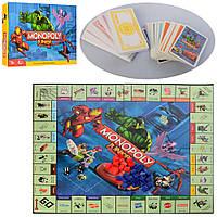 Гра настільна Монополія, фішки, кредит. карти M3802