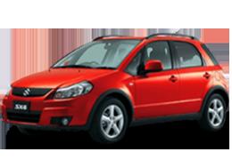 Накладки на задний бампер для Suzuki (Сузуки) SX4 I 2006-2013