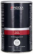 Беспылевой осветляющий порошок Белый Indola Profession Rapid Blond+ White 500 г
