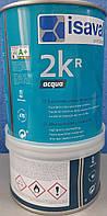 Эмаль водно акриловая полиуретановая 2-х компонентная 2 КR Aqua Isaval 0,75л, фото 1