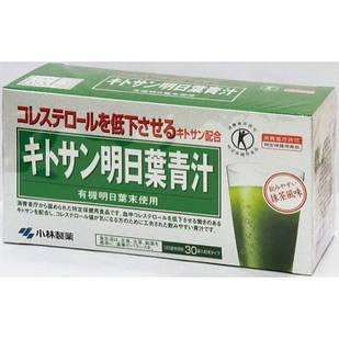 Kobayashi Pharmaceutical Chitosan Asoba Aojiru зелений сік японського селери і хітозан 30 пакетів по 3 гр