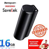 Мини диктофон Savetek 1000-16Gb с магнитом (Оригинал) 600 часов работы,c голосовой активацией записи
