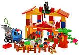 Конструктор для дітей блоковий ферма з тваринами арт.5210, фото 2