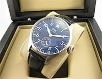 Часы IWC Schaffhausen Pilot`s 42mm (механика) Silver/Black. Реплика ААА., фото 1
