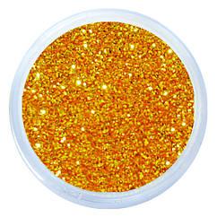 Песочки Блесточки Глиттеры Золотого Цвета для Декора и Дизайна Ногтей, Все для Маникюра Педикюра, Ногти