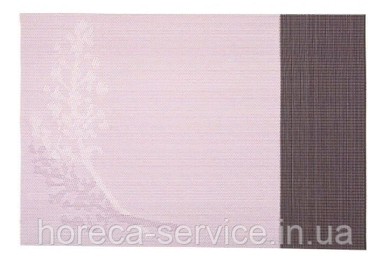Коврик для сервировки стола фиолетового цвета с рисунками 450*300 мм (шт)