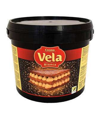 Крем кондитерський молочно - горіховий Вела Ночола Б'є янко / Vela Nocciola Bianca, 6 кг, фото 2