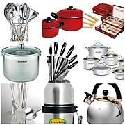 Товари для кухні посуд )_