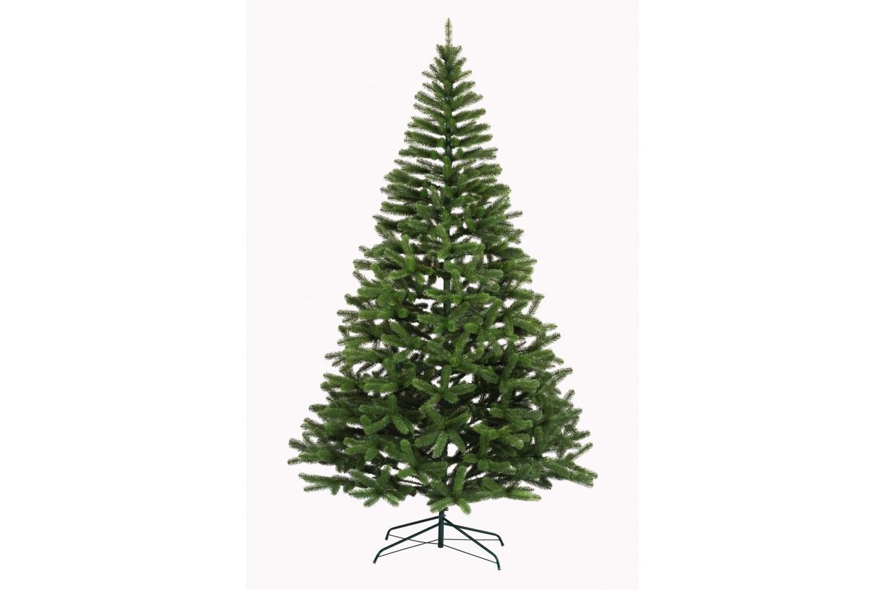 Литая искусственная елка Президентская 2,3 метра зеленая ель