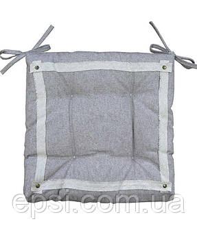 Подушка на стул Прованс  40х40 HYGGE Marron 100% хлопок