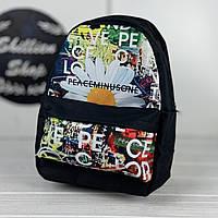 Детский рюкзак G-Dragon / peaceminusone с ромашками