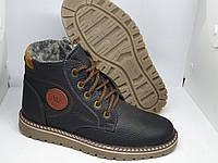 Харьковские кожаные зимние подростковые ботинки Walker!!!