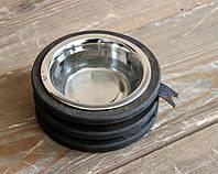 Миска-кормушка металлическая для собак и щенков - by smartwood XS - 1 миска XS - 1 миска
