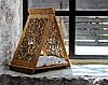 Лежак-вигвам - спальное место для собак by smartwood