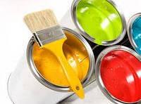 Краски, грунтовки, клея, герметики, растворители, антифризы.
