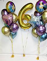 """Готовый набор гелиевых шаров №48 """"Восточная сказка"""""""
