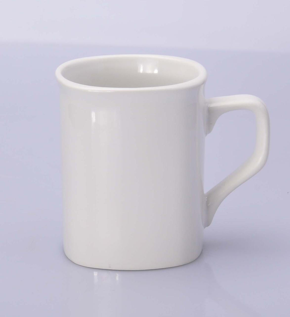 Чашка квадратная сублимационная белая 250мл