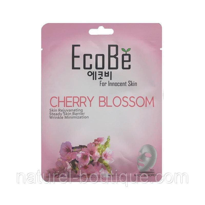 Тканевая маска для лица EcoBe Cherry Blossom Mask