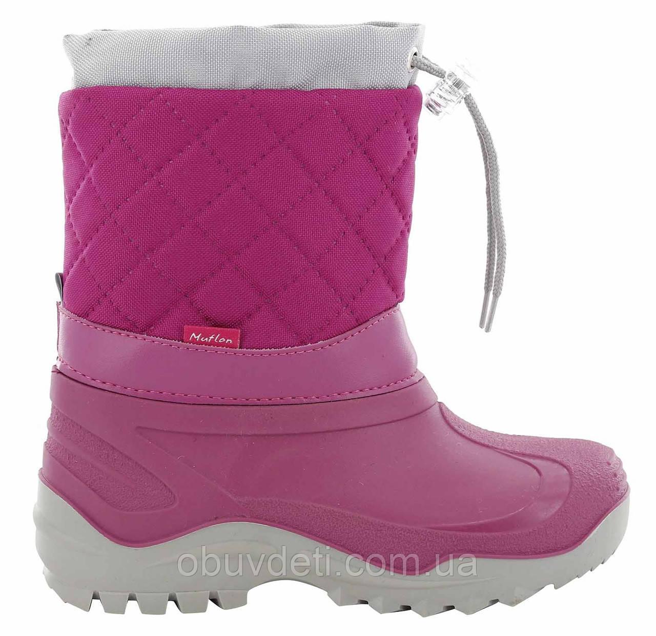 Детские сноубутсы для девочки Muflon29-30 (19,0 см)