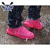 Чехлы бахилы для обуви силиконовые бахилы от дождя многоразовые бахилы от дождя РОЗОВЫЕ р-р М (37-41), фото 3