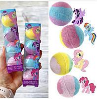 Детские бомбочки для ванной My Little Pony