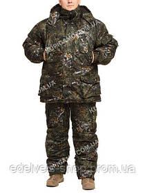 """Зимний костюм из непромокаемой ткани Alova""""Темный лес"""" до -30℃"""