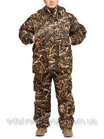 """Зимовий костюм з водостійкої тканини Alova""""Коричневий очерет"""" до -30℃"""