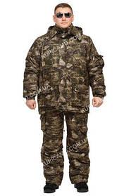 """Зимовий костюм з водостійкої тканини """"""""Клітка"""" до -30℃"""