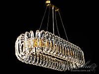 Хрустальная люстра овальной формы для гостиной (1022-1000x400HR)