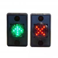 Светодиодная мнемосхема Promix-VI.LED.01 (MNEMO-KZ «красный крест - зеленая стрелка»)