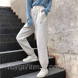 Женские штаны тёплые (42-50),3-х нить