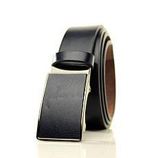 Ремень Casa Familia искусственная кожа, черный L3511T2 115-120 см, фото 2