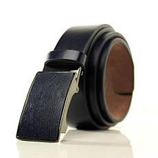 Ремень Casa Familia искусственная кожа, черный L3511T2 115-120 см, фото 3