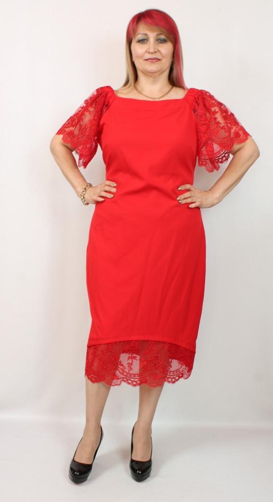 Турецкое нарядное женское платье больших размеров 50-56