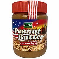 Арахисовая паста Gina Peanut Butter Crunchy - 350 грамм