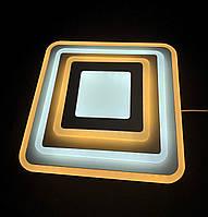 Светодиодный потолочный светильник квадрат 32 ватт, фото 1