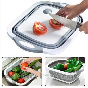 Кухонная разделочная доска-миска Chopper, многофункциональная 2 в 1