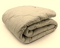 Демисезонное одеяло двуспальное евро 200х210 стеганое_холлофайбер_бязь Голд (7206), фото 1