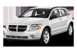 Накладки на пороги для Dodge (Додж) Caliber 2006-2011