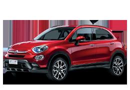 Накладки на пороги для Fiat (Фиат) 500X 2014+