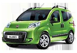 Накладки на пороги для Fiat (Фиат) Fiorino 3/Qubo 2007+