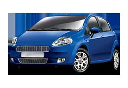 Накладки на пороги для Fiat (Фиат) Grande Punto 2005-2018