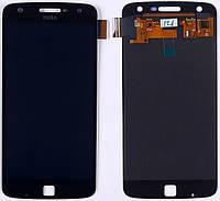 Дисплей Motorola XT1635-02 Moto Z Play complete Black