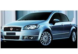 Накладки на пороги для Fiat (Фиат) Linea 2007-2015