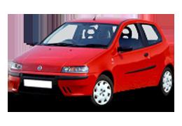 Накладки на пороги для Fiat (Фиат) Punto 2 1999-2012